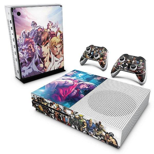 Xbox One Slim Skin - Street Fighter