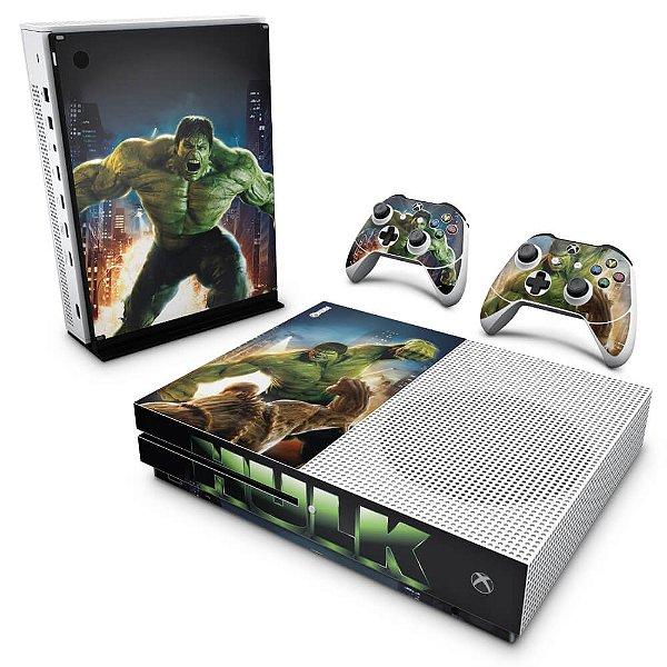 Xbox One Slim Skin - Hulk
