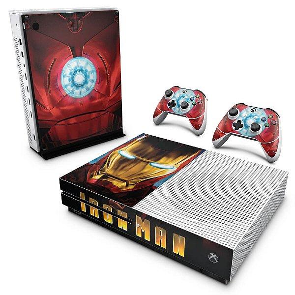 Xbox One Slim Skin - Iron Man - Homem de Ferro