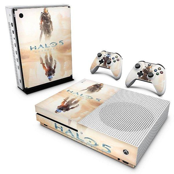 Xbox One Slim Skin - Halo 5: Guardians #A