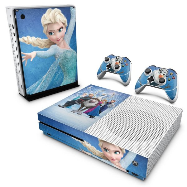 Xbox One Slim Skin - Frozen