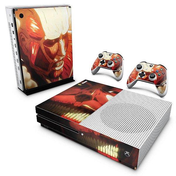 Xbox One Slim Skin - Attack on Titan #B
