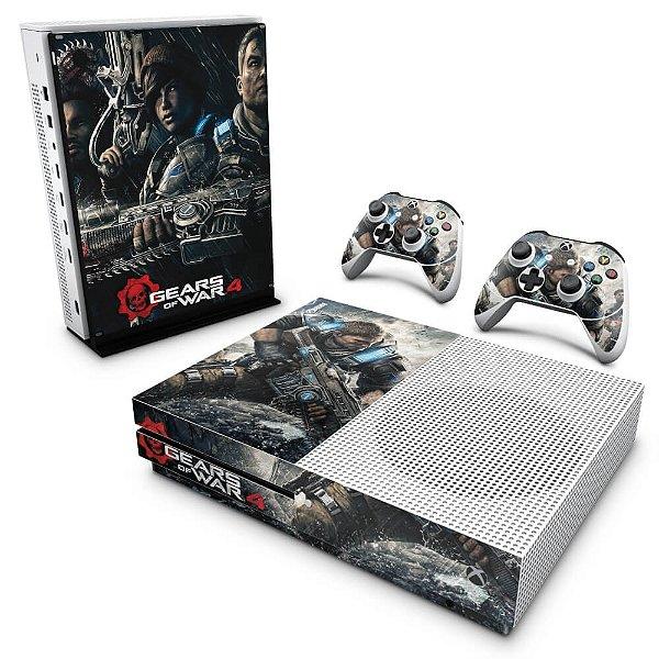 Xbox One Slim Skin - Gears of War 4
