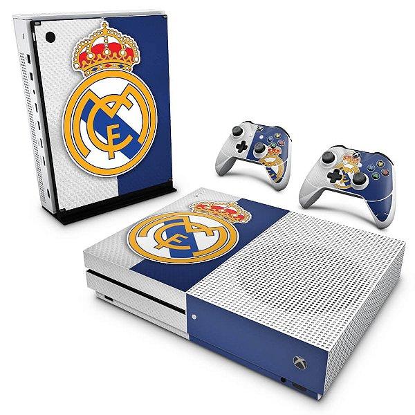 Xbox One Slim Skin - Real Madrid