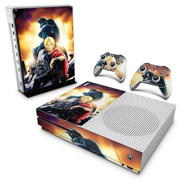Xbox One Slim Skin - Fullmetal Alchemist: Brotherhood