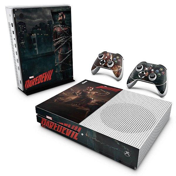 Xbox One Slim Skin - Daredevil Demolidor