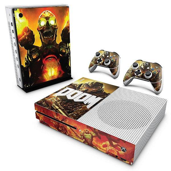 Xbox One Slim Skin - Doom