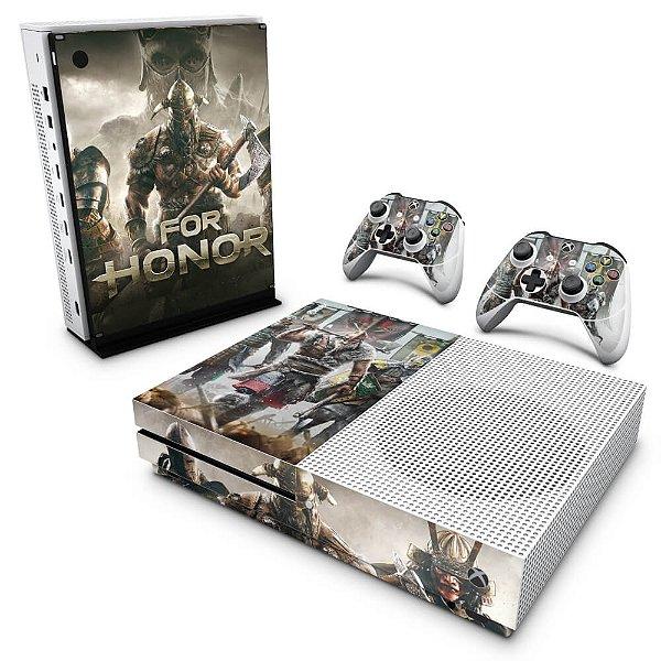 Xbox One Slim Skin - For Honor