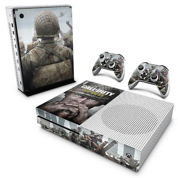 Xbox One Slim Skin - Call of Duty WW2