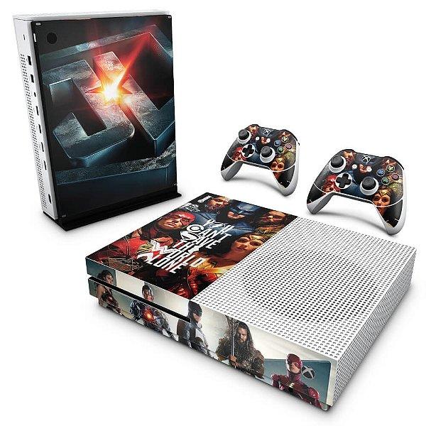 Xbox One Slim Skin - Liga da Justiça