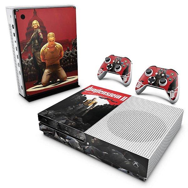 Xbox One Slim Skin - Wolfenstein 2 New Order