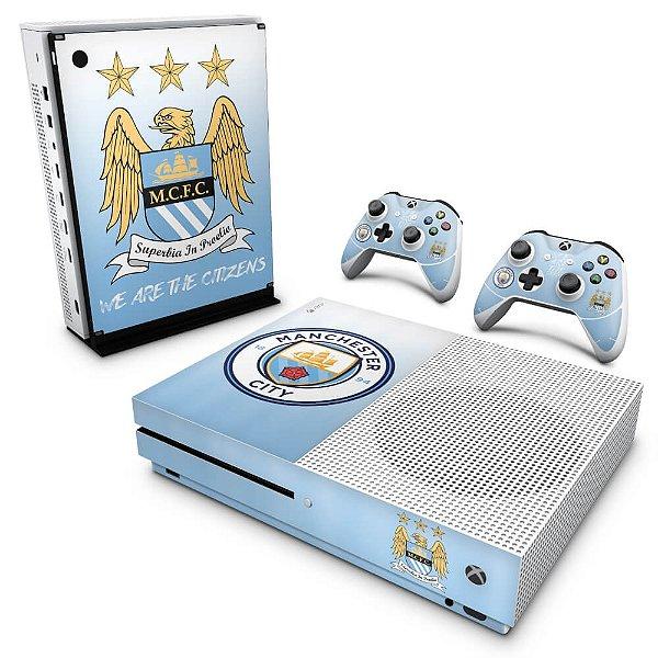 Xbox One Slim Skin - Manchester City FC