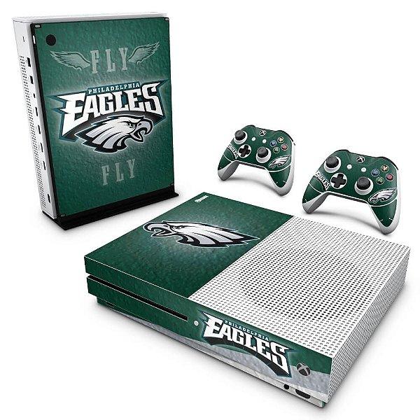 Xbox One Slim Skin - Philadelphia Eagles NFL