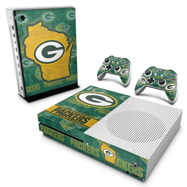Xbox One Slim Skin - Green Bay Packers NFL