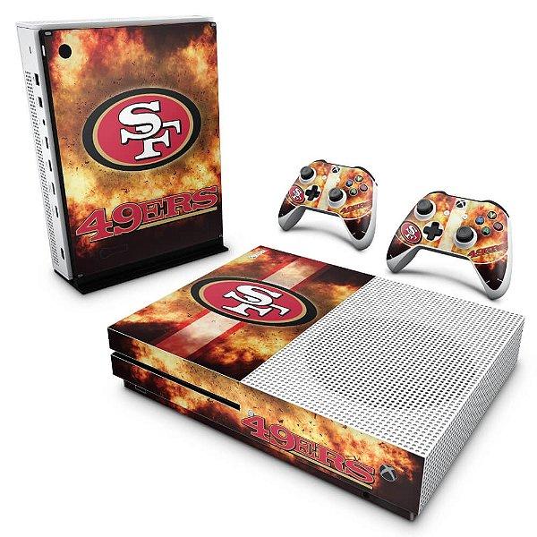 Xbox One Slim Skin - San Francisco 49ers - NFL