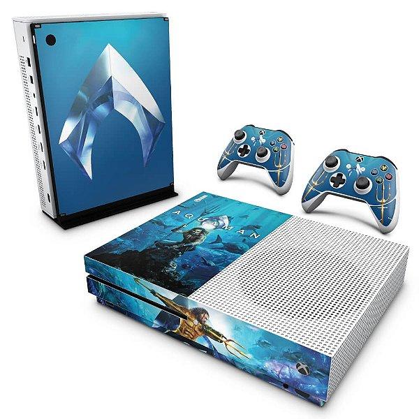 Xbox One Slim Skin - Aquaman