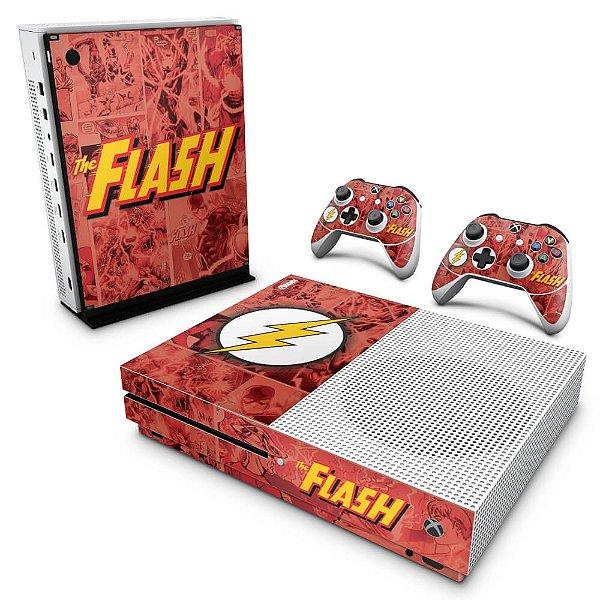 Xbox One Slim Skin - The Flash Comics