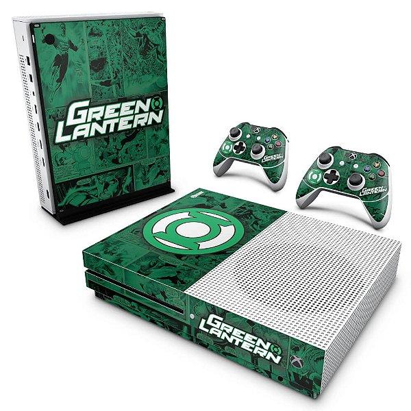 Xbox One Slim Skin - Lanterna Verde Comics