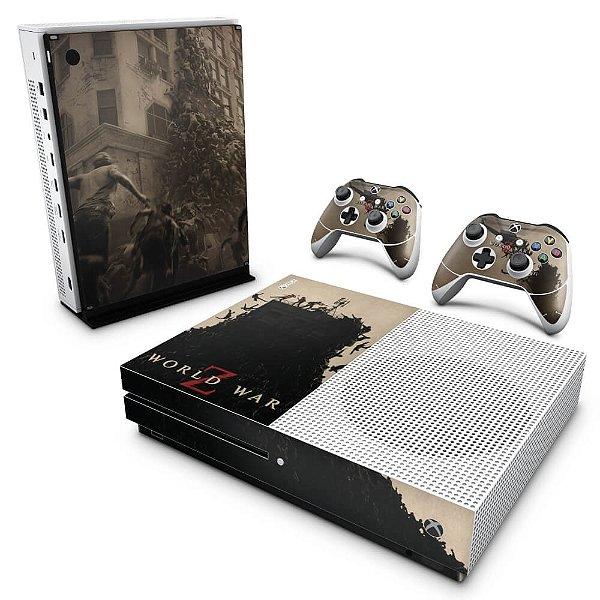 Xbox One Slim Skin - World War Z