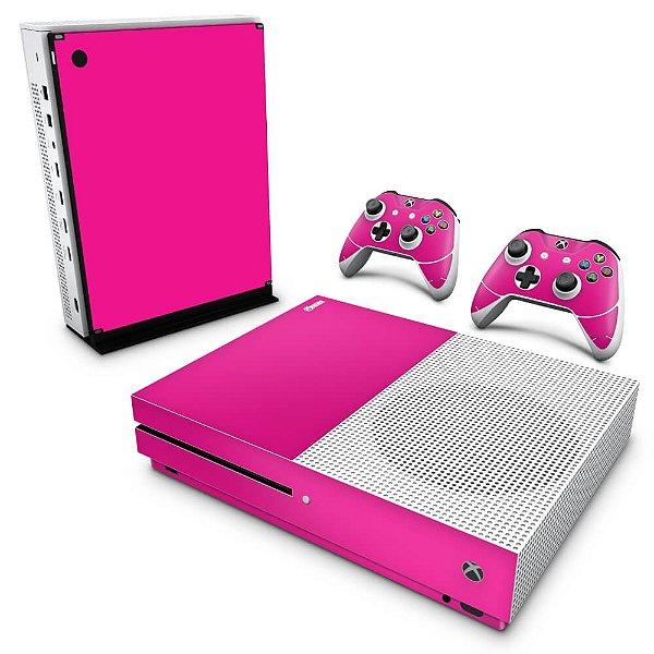 Xbox One Slim Skin - Rosa Pink