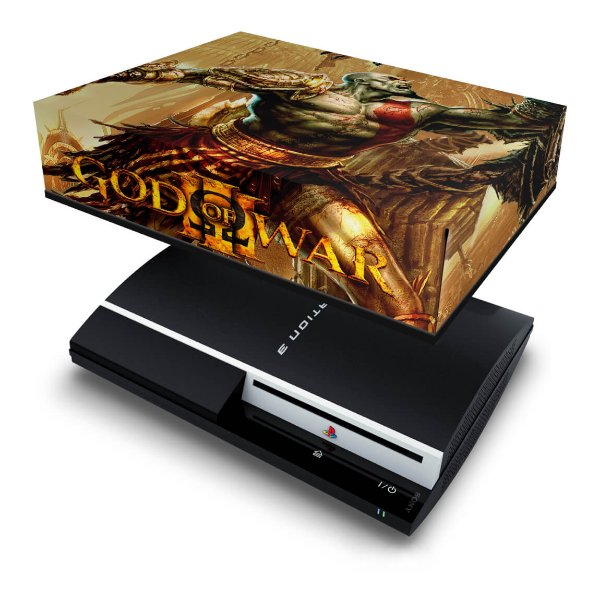 PS3 Fat Capa Anti Poeira - God Of War 3 #1