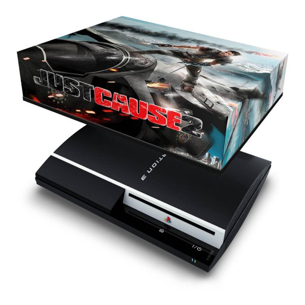 PS3 Fat Capa Anti Poeira - Just Cause 2