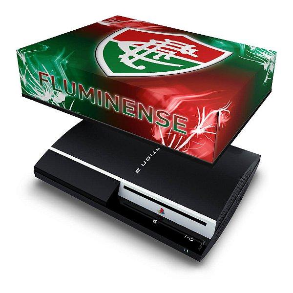 PS3 Fat Capa Anti Poeira - Fluminense