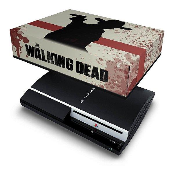 PS3 Fat Capa Anti Poeira - The Walking Dead #1