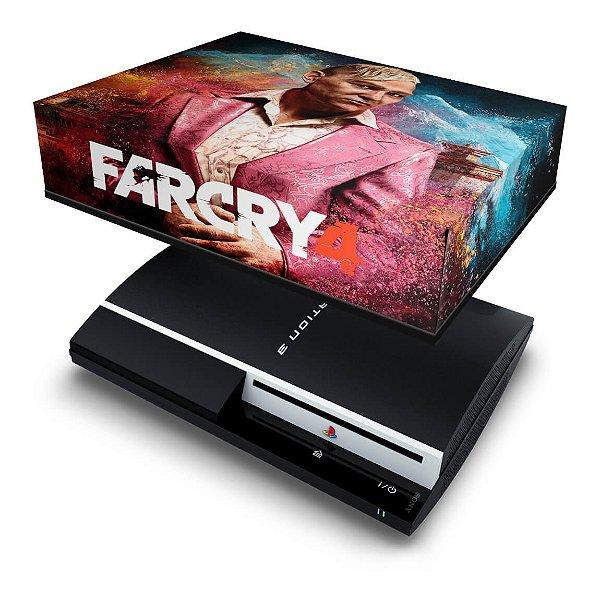 PS3 Fat Capa Anti Poeira - Far Cry 4
