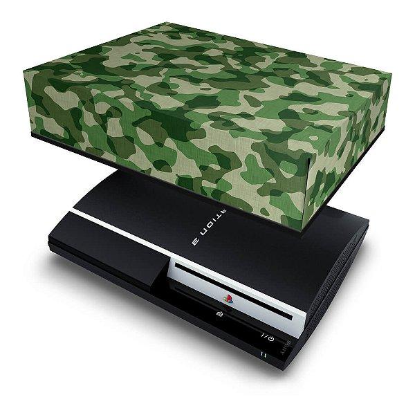 PS3 Fat Capa Anti Poeira - Camuflado #b