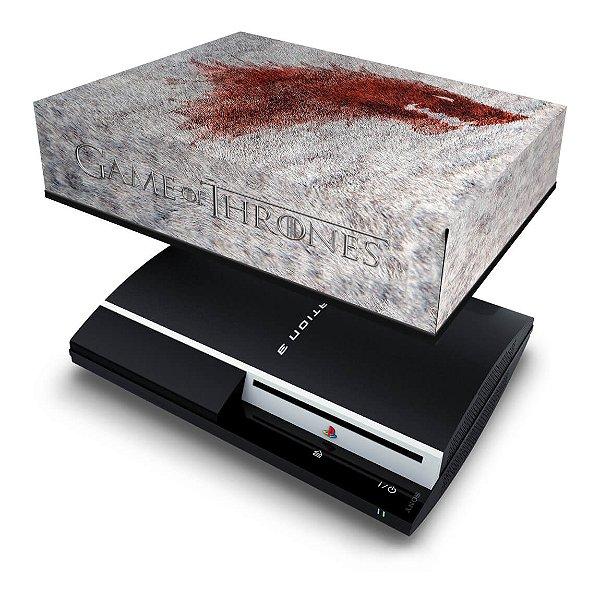 PS3 Fat Capa Anti Poeira - Game Of Thrones
