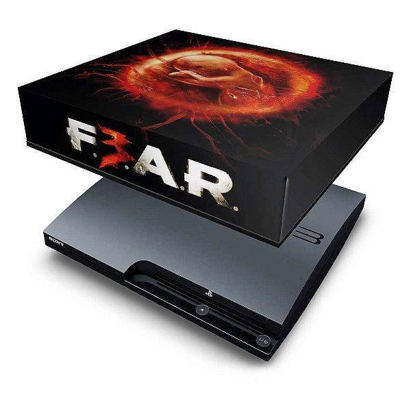 PS3 Slim Capa Anti Poeira - F3ar Fear 3