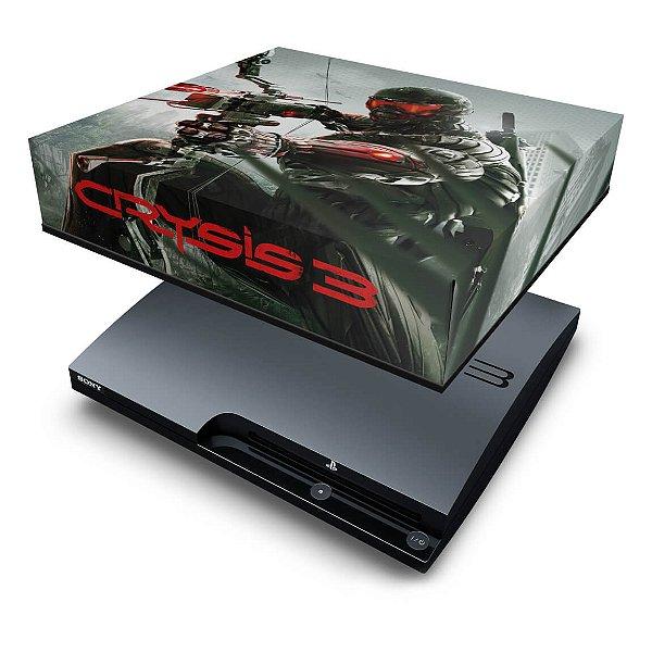 PS3 Slim Capa Anti Poeira - Crysis 3