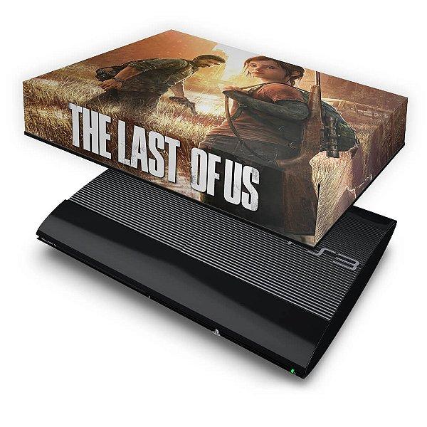 PS3 Super Slim Capa Anti Poeira - Last Of Us