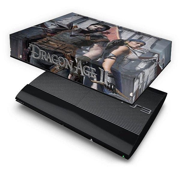 PS3 Super Slim Capa Anti Poeira - Dragon Age 2