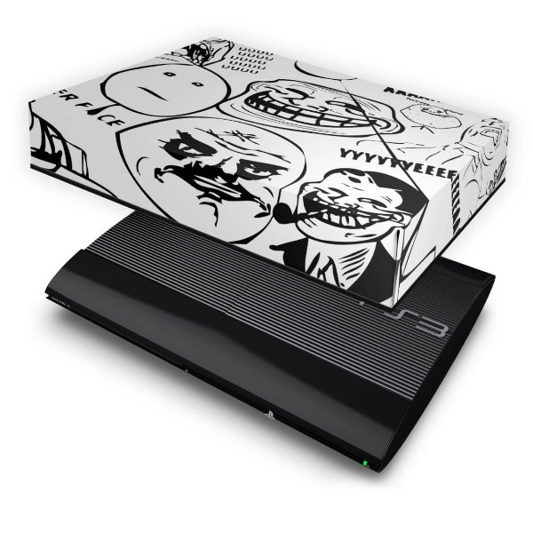 PS3 Super Slim Capa Anti Poeira - Memes