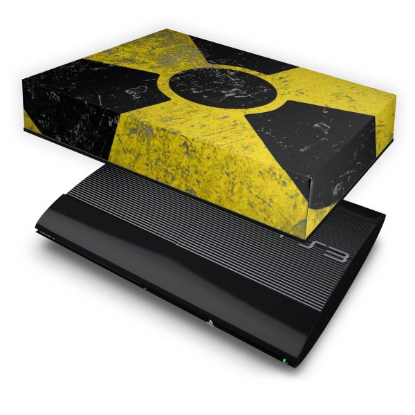 PS3 Super Slim Capa Anti Poeira - Radioativo