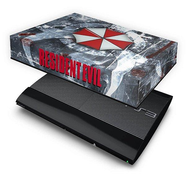 PS3 Super Slim Capa Anti Poeira - Resident Evil
