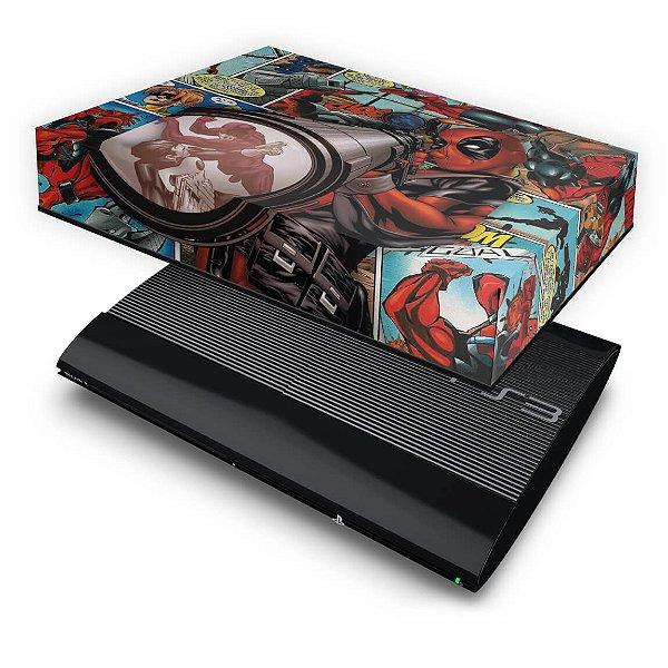 PS3 Super Slim Capa Anti Poeira - Deadpool