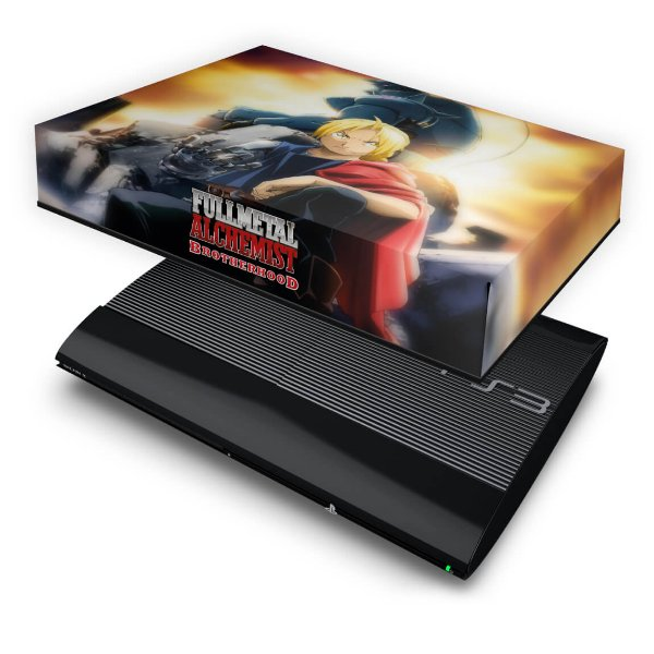 PS3 Super Slim Capa Anti Poeira - Fullmetal Alchemist