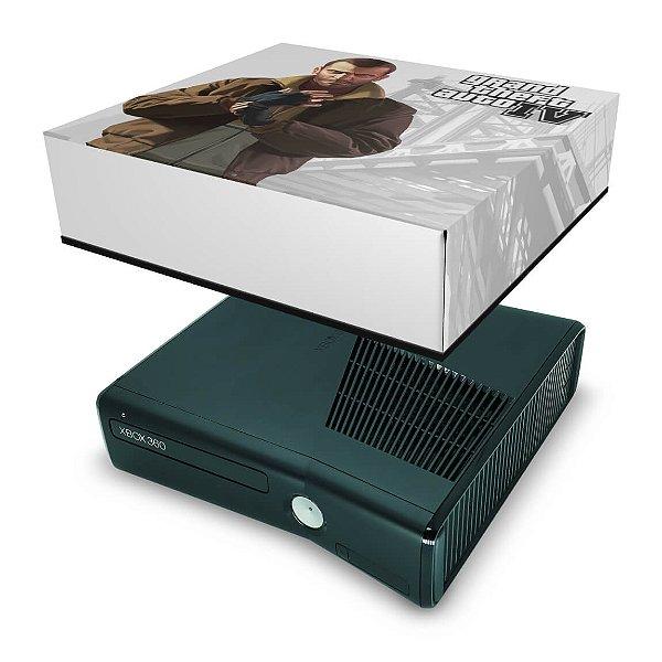 Xbox 360 Slim Capa Anti Poeira - Gta Iv