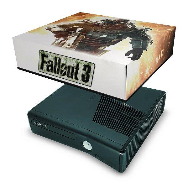 Xbox 360 Slim Capa Anti Poeira - Fallout 3