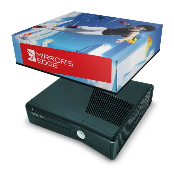 Xbox 360 Slim Capa Anti Poeira - Mirrors Edge
