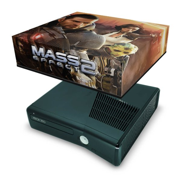 Xbox 360 Slim Capa Anti Poeira - Mass Effect 2