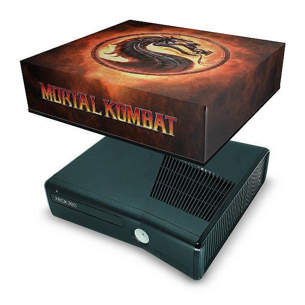 Xbox 360 Slim Capa Anti Poeira - Mortal Kombat