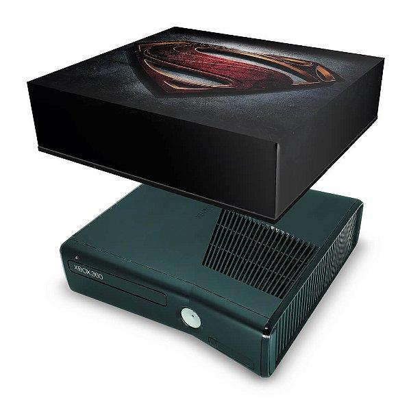 Xbox 360 Slim Capa Anti Poeira - Superman