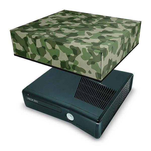 Xbox 360 Slim Capa Anti Poeira - Camuflado
