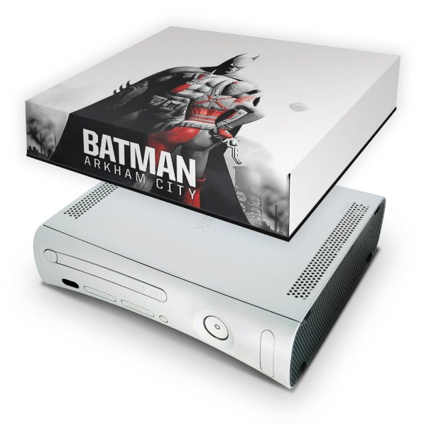 Xbox 360 Fat Capa Anti Poeira - Batman Arkham City