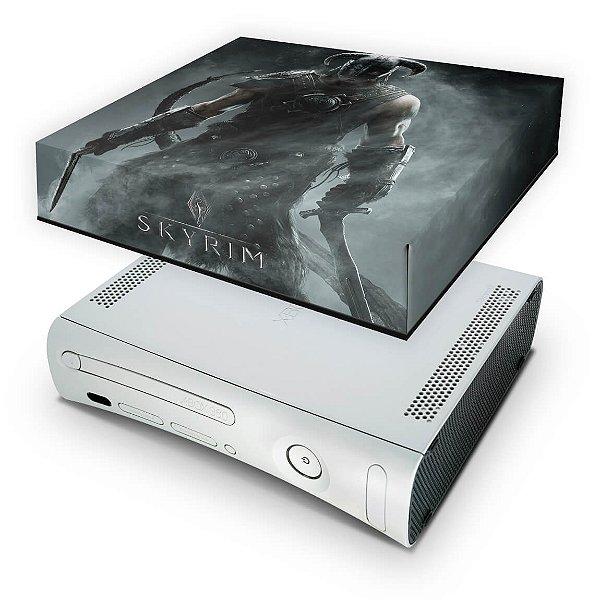 Xbox 360 Fat Capa Anti Poeira - Skyrim