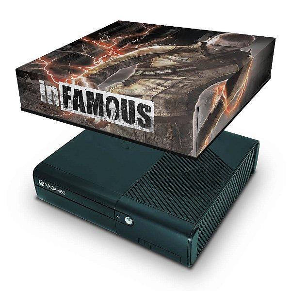 Xbox 360 Super Slim Capa Anti Poeira - Infamous
